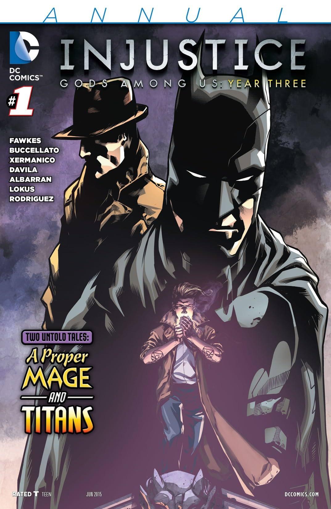 Injustice: Gods Among Us: Year Three (2015): Annual #1