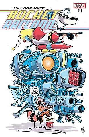 Rocket Raccoon (2014-2015) #11