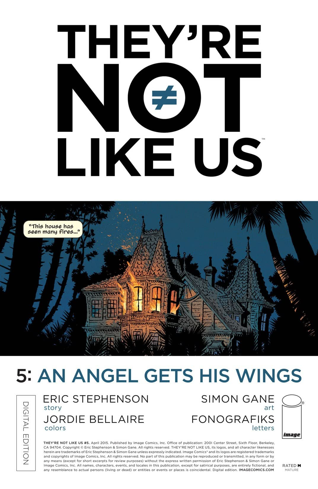 They're Not Like Us #5