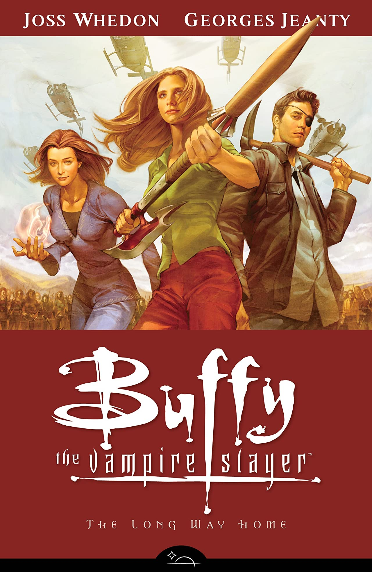 Buffy the Vampire Slayer Season 8 Vol. 1: The Long Way Home
