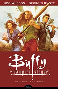 Buffy the Vampire Slayer Season 8 Vol. 1: The Long Way Home