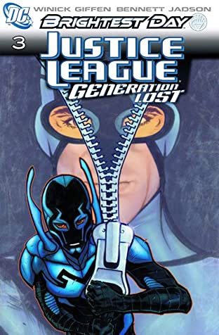 Justice League: Generation Lost No.3