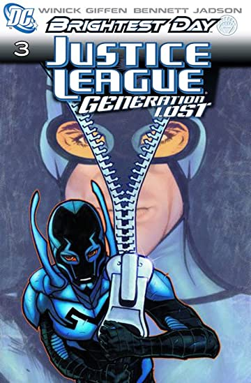 Justice League: Generation Lost #3