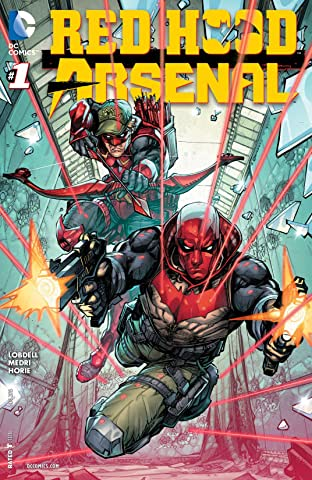 Red Hood/Arsenal (2015-2016) #1