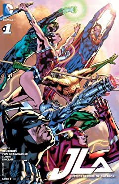 Justice League of America (2015-2016) #1