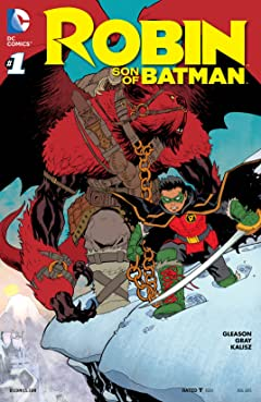 Robin: Son of Batman (2015-2016) #1