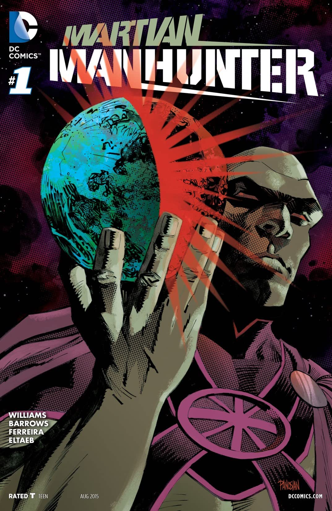Martian Manhunter (2015-2016) #1