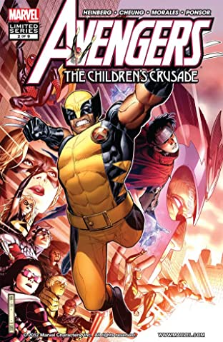 Avengers: The Children's Crusade No.2 (sur 9)