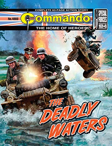 Commando #4803: The Deadly Waters