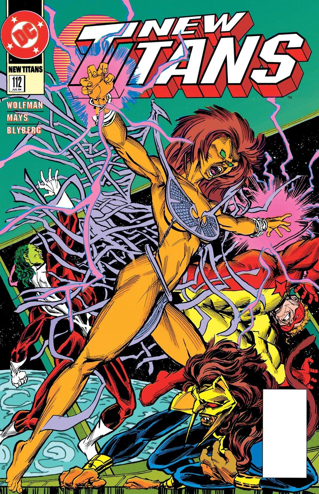 The New Titans (1984-1996) #112