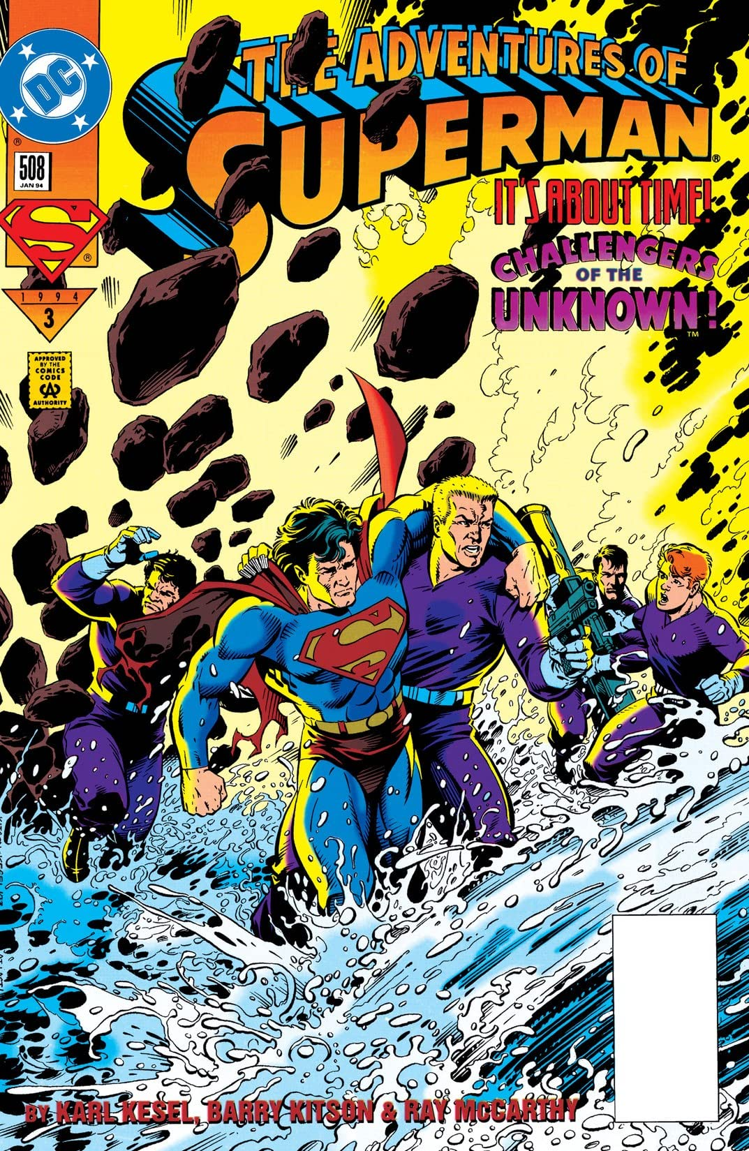 Adventures of Superman (1986-2006) #508