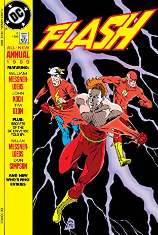 The Flash (1987-2009): Annual #3