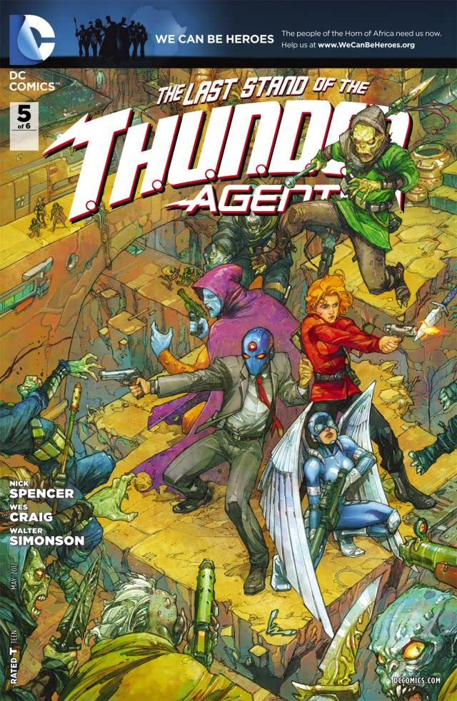 THUNDER Agents (2011-2012) #5 (of 6)