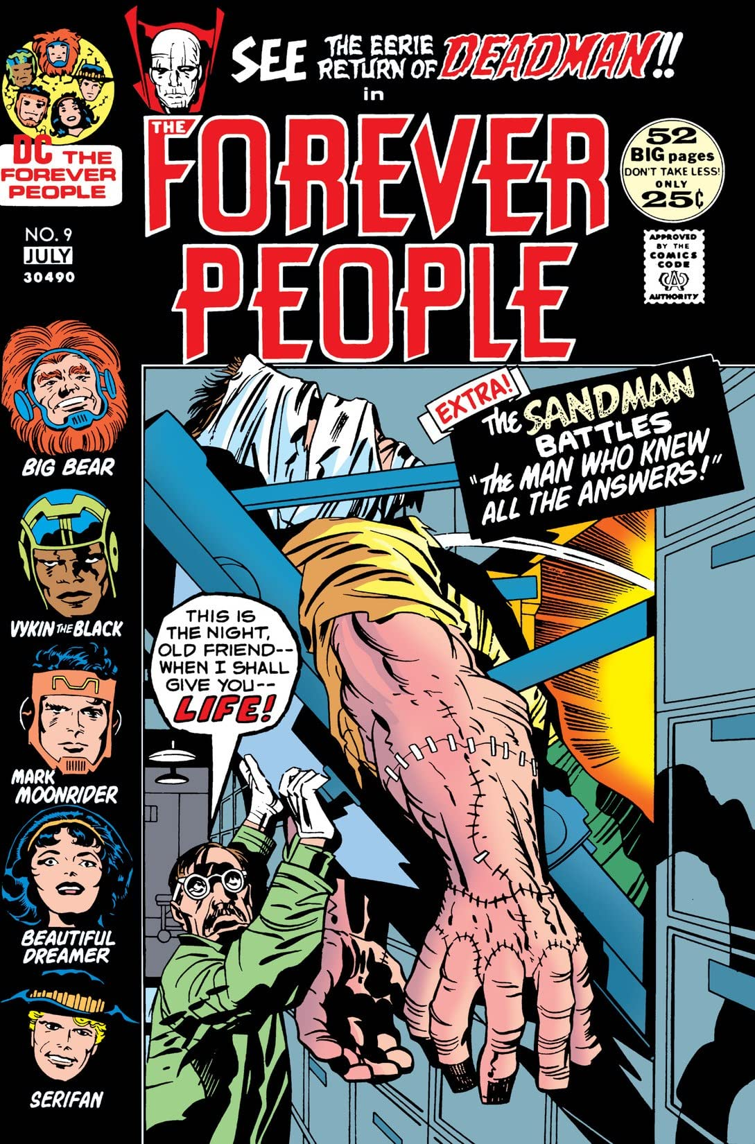 The Forever People (1971-1972) #9