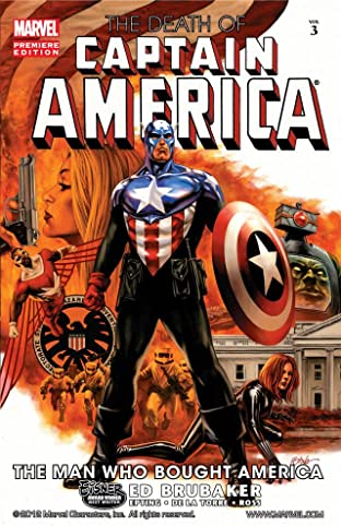 Captain America: The Death of Captain America Tome 3: The Man Who Bought America