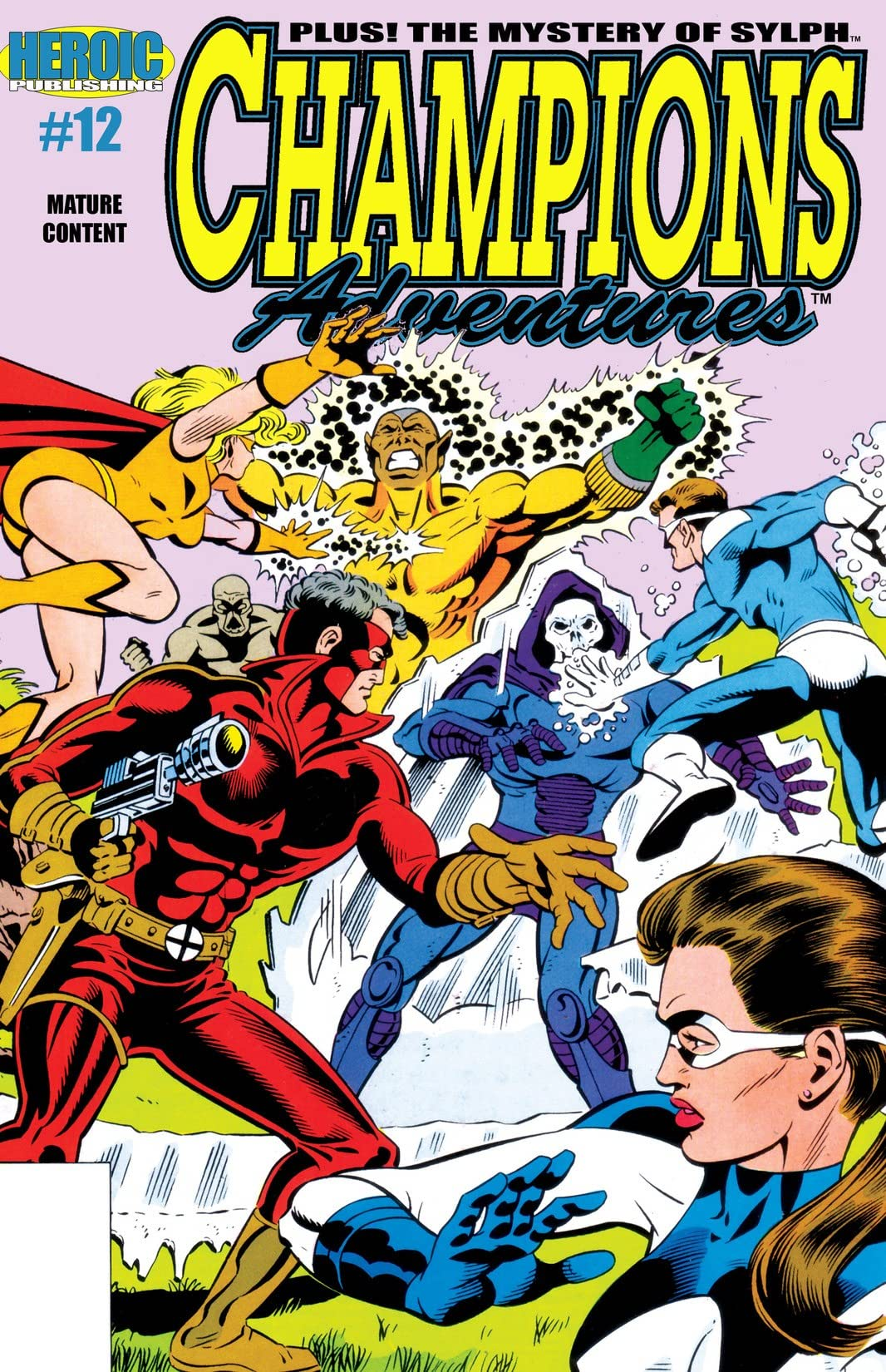 Champions Adventures #12