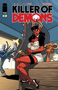 Killer of Demons #2 (of 3)
