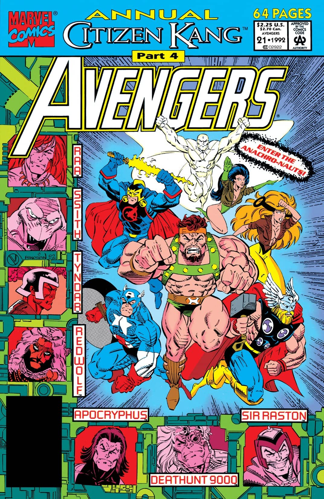 Avengers (1963-1996) Annual #21