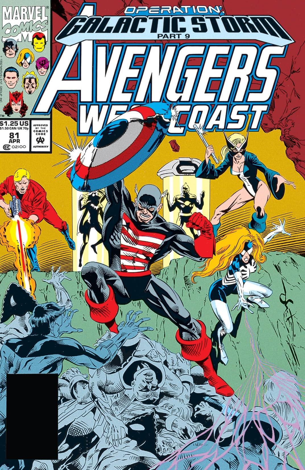 Avengers West Coast (1985-1994) #81