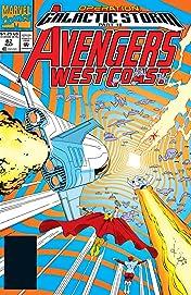 Avengers West Coast (1985-1994) #82