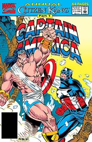 Captain America (1968-1996) Annual No.11