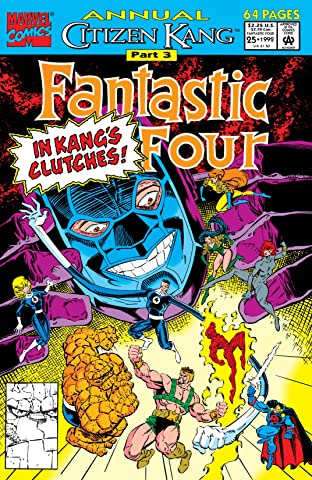 Fantastic Four (1961-1998) Annual No.25