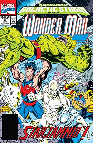 Wonder Man (1991-1994) No.8