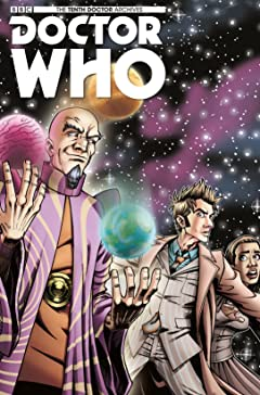 Doctor Who: The Tenth Doctor Archives #4