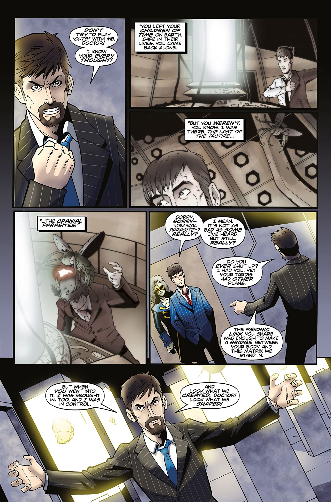 Doctor Who: The Tenth Doctor Archives #12