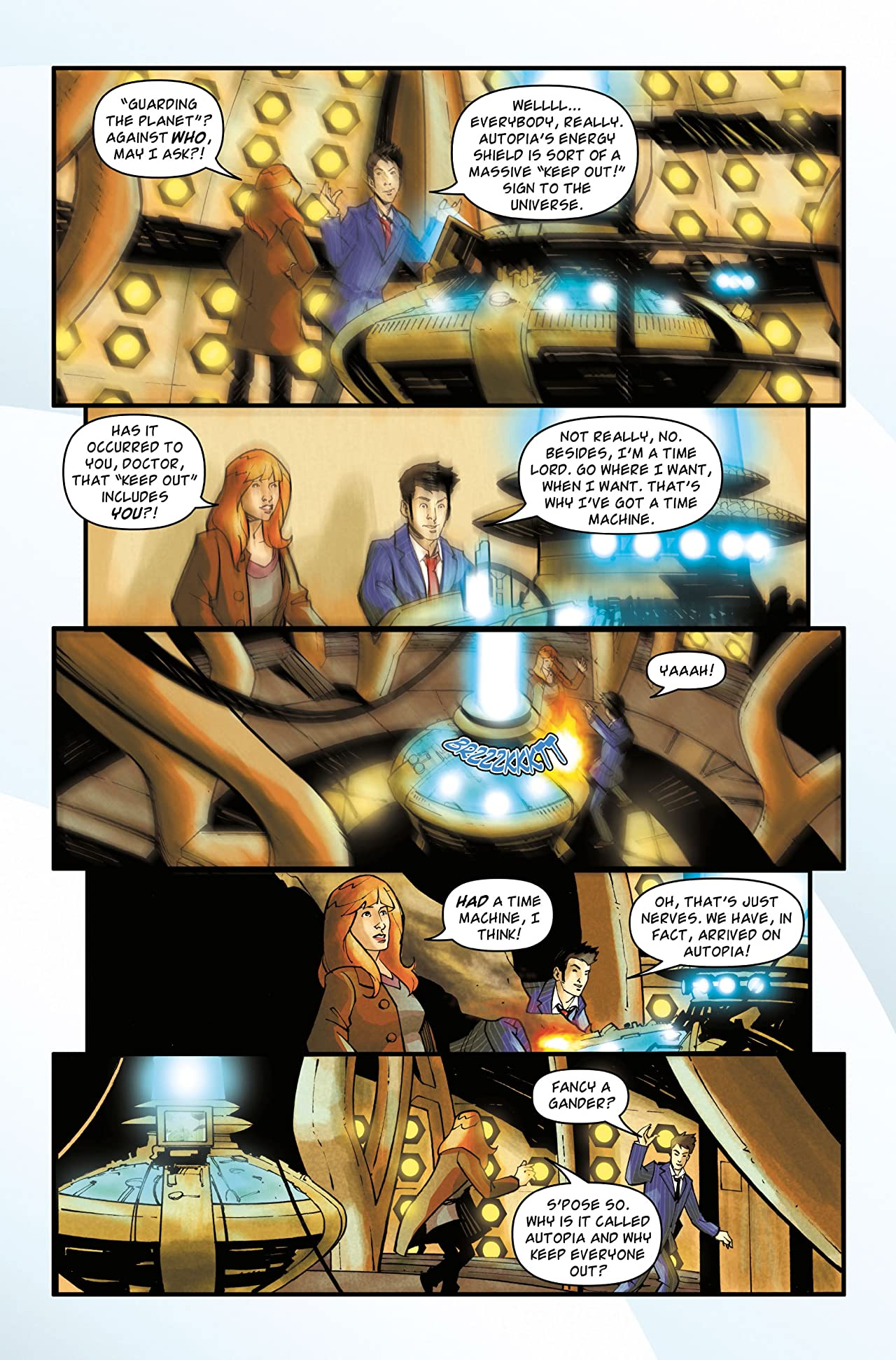 Doctor Who: The Tenth Doctor Archives #15