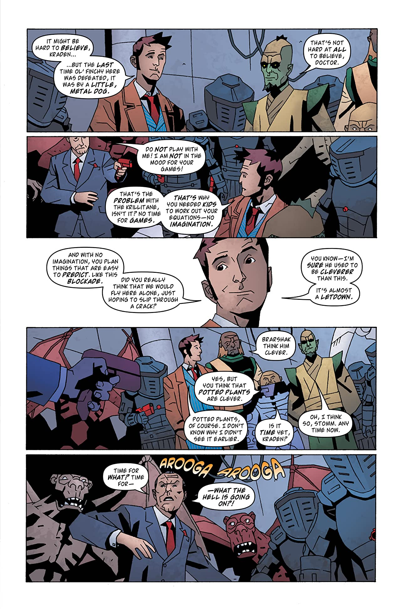 Doctor Who: The Tenth Doctor Archives #24