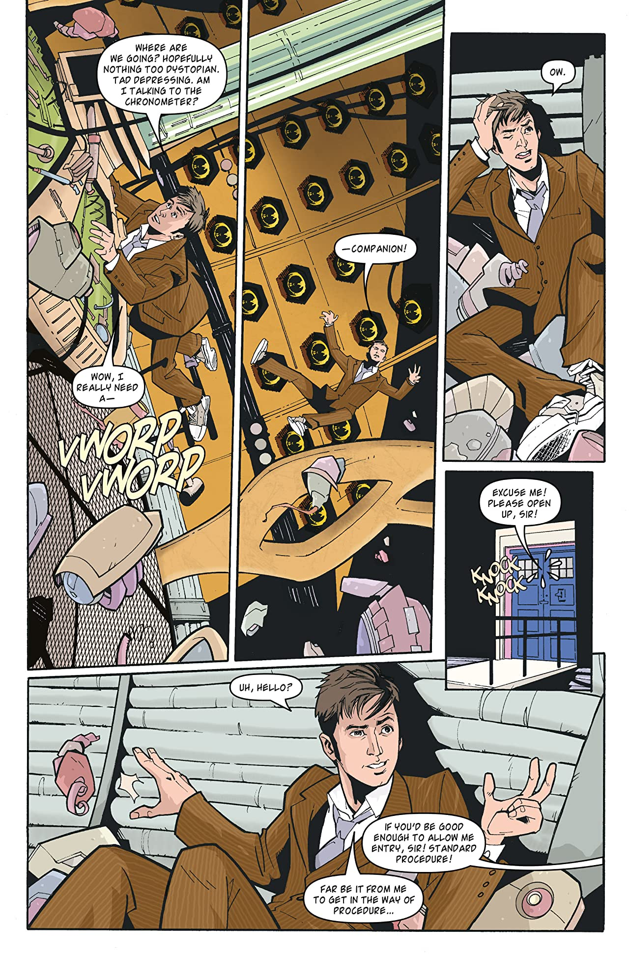 Doctor Who: The Tenth Doctor Archives #35