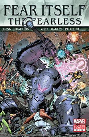 Fear Itself: The Fearless #11 (of 12)