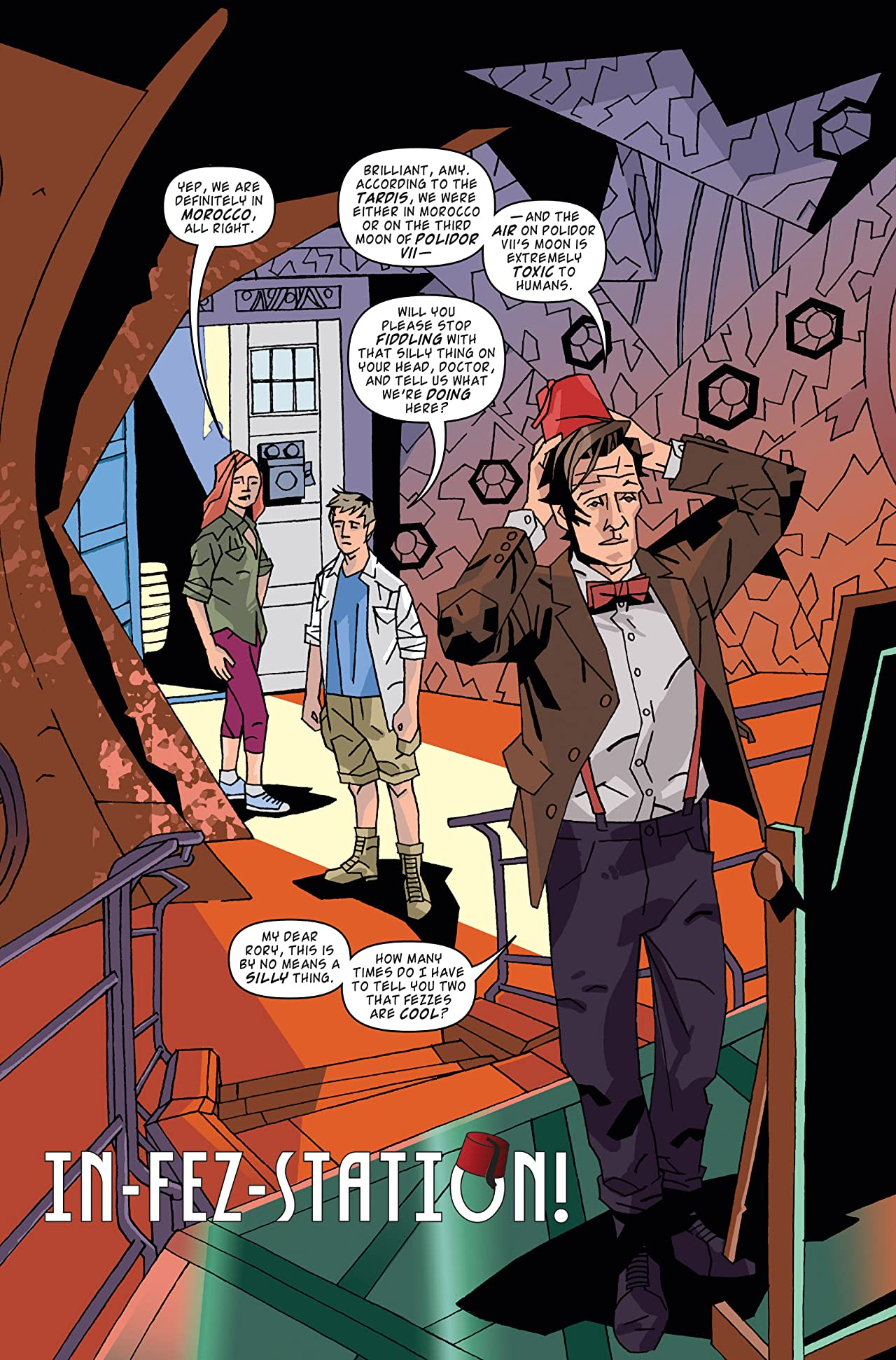 Doctor Who: The Eleventh Doctor Archives #26