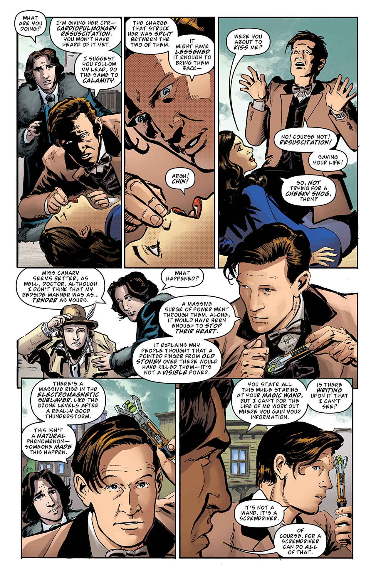 Doctor Who: The Eleventh Doctor Archives #36