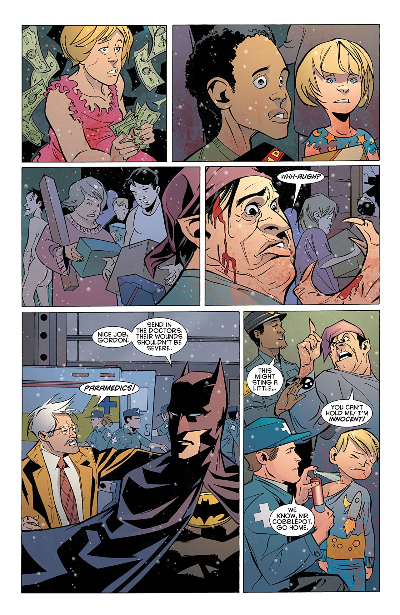Batman: Streets of Gotham #18