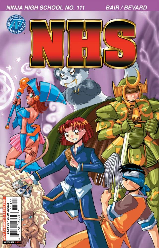 Ninja High School #111