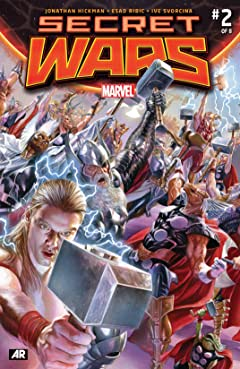 Secret Wars (2015-2016) #2 (of 9)