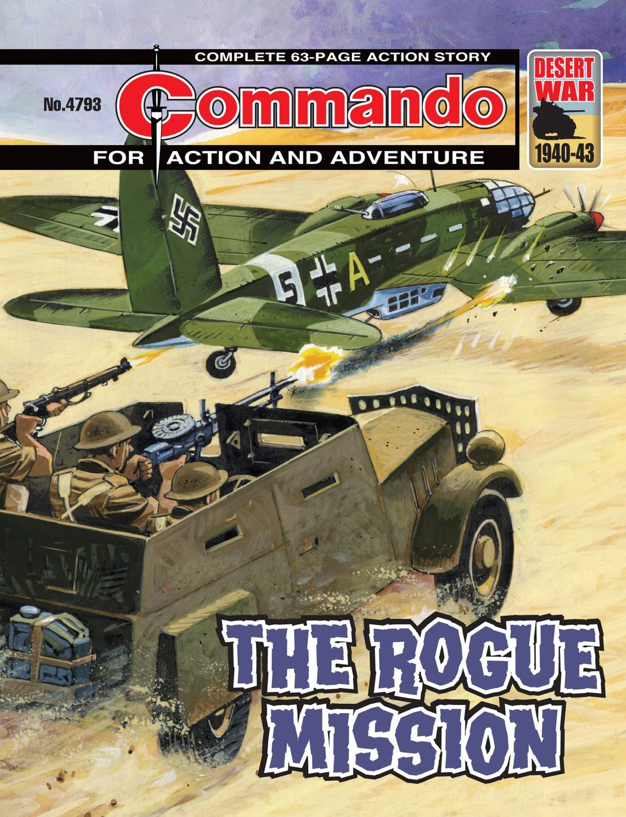 Commando #4793: The Rogue Mission