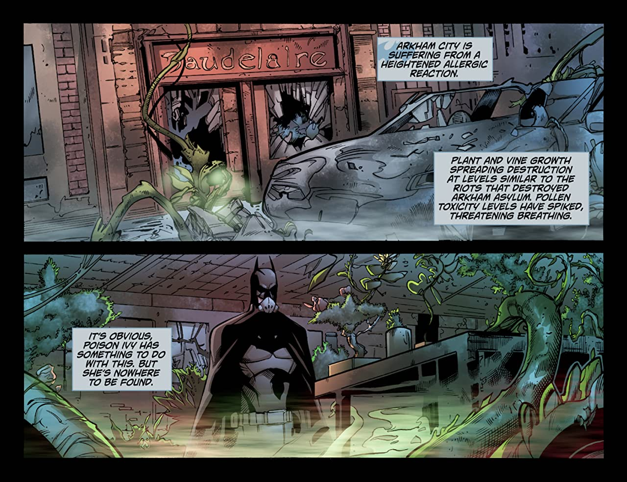 Batman: Arkham Unhinged #24