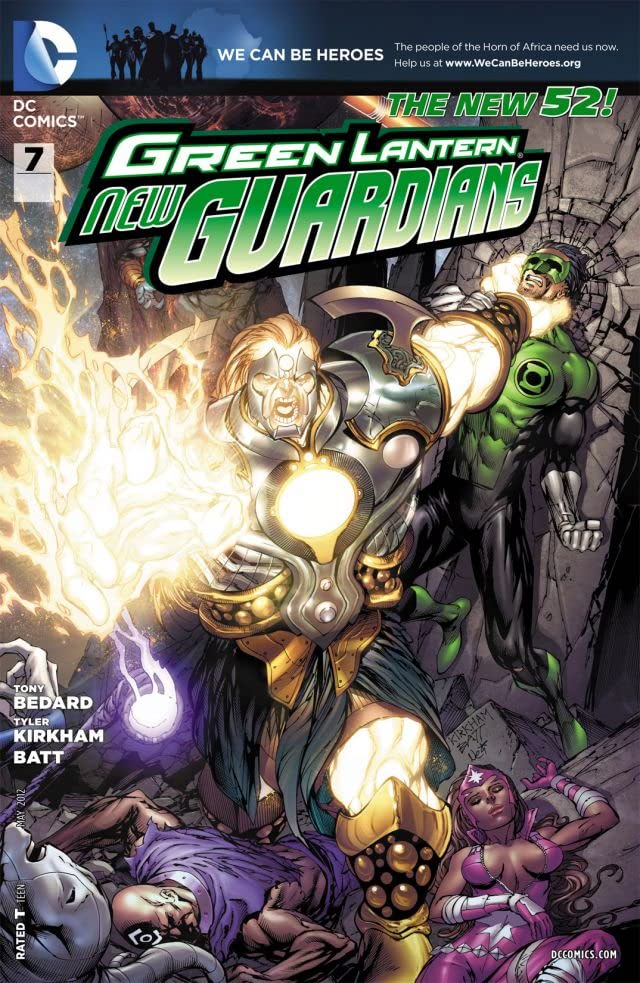 Green Lantern: New Guardians (2011-2015) #7