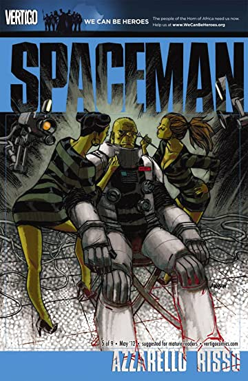 Spaceman #5 (of 9)