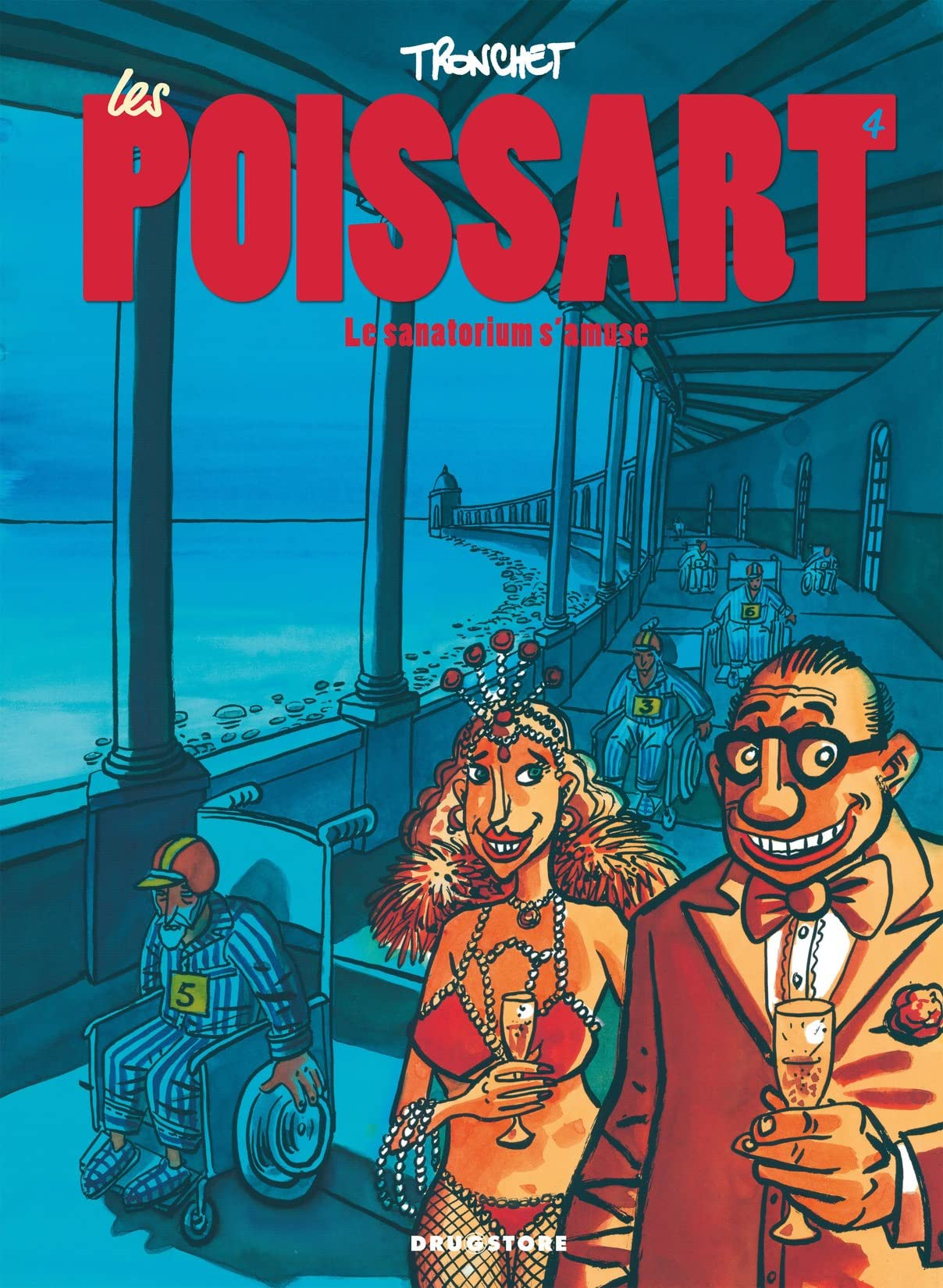 Les Poissart Vol. 4: Le sanatorium s'amuse