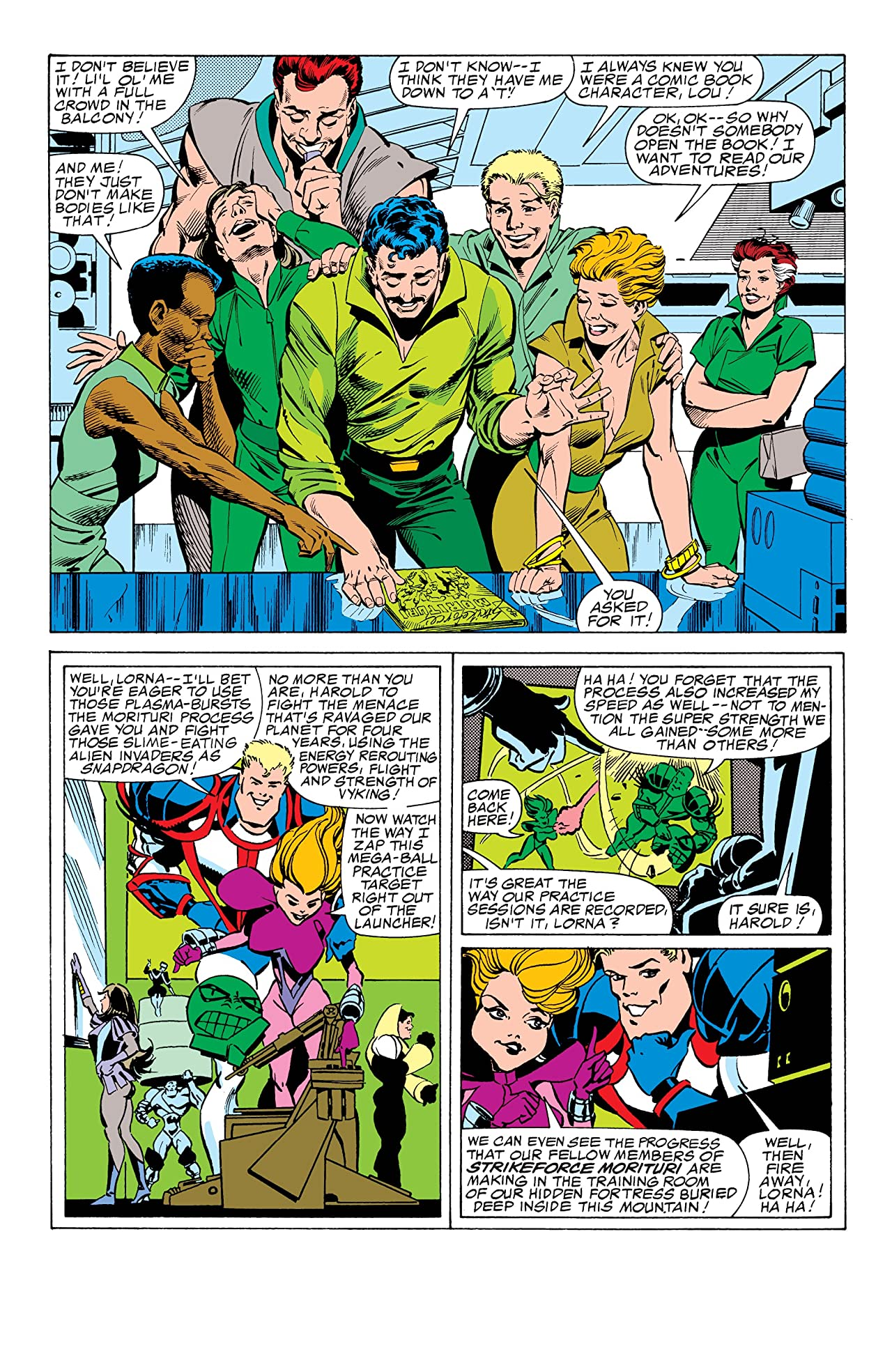 Strikeforce: Morituri #4