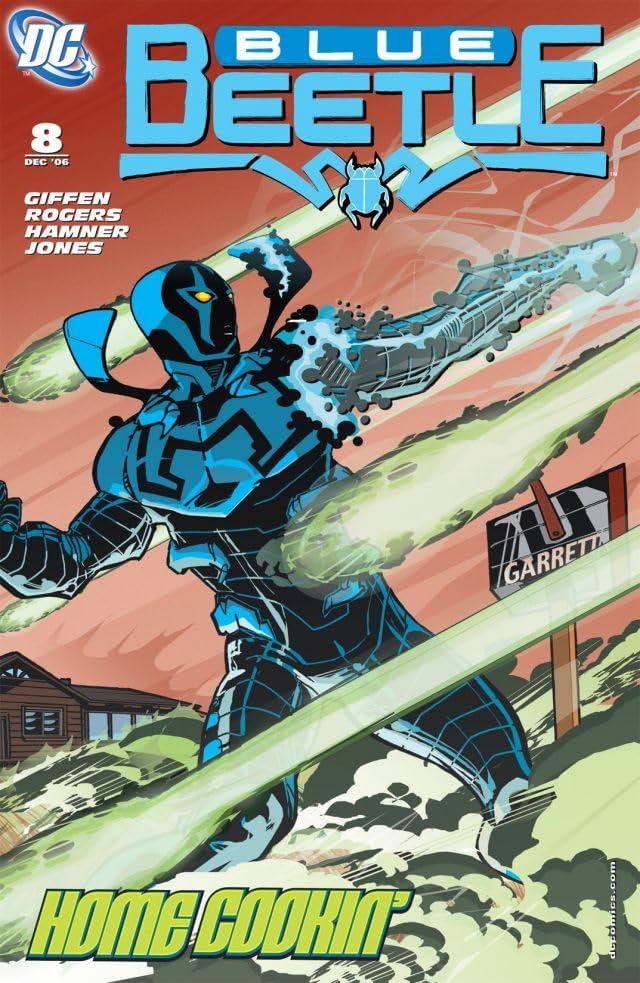 Blue Beetle (2006-2009) #8