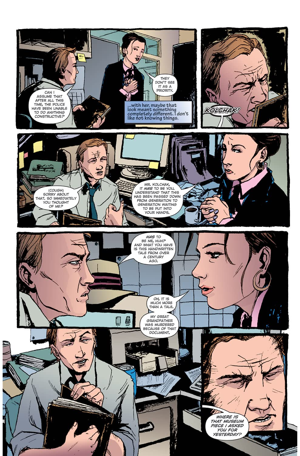 Sherlock Holmes & Kolchak: The Night Stalker #1 (of 3)