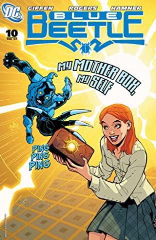 Blue Beetle (2006-2009) #10