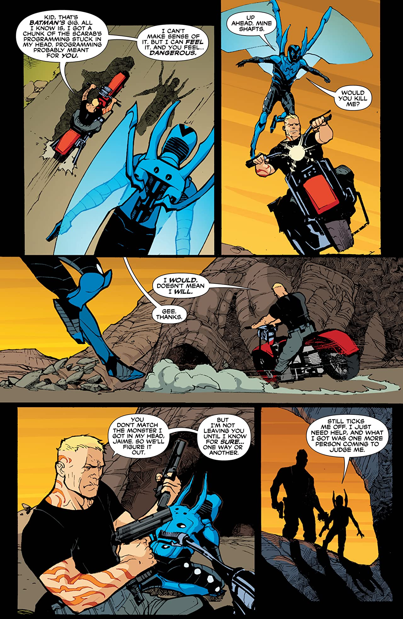 Blue Beetle (2006-2009) #12