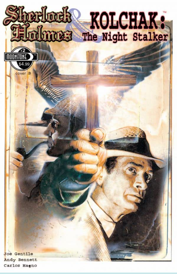 Sherlock Holmes & Kolchak: The Night Stalker #2 (of 3)