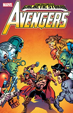 Avengers: Galactic Storm Tome 2